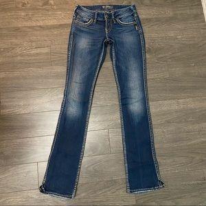 Silver McKenzie Dark Wash Jeans